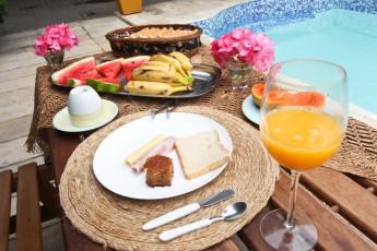 Braz Hostel : café da manhã