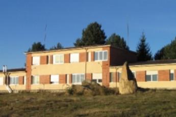 Albergue Os Biocos da Vía Nova : hostel exterior