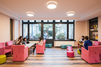 Brussels - Jacques Brel Youth Hostel :