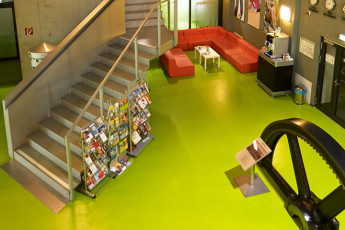 City Hostel Chemnitz : City Hostel Chemnitz - Foyer
