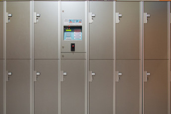 Roma - Downtown Hostel : also avaliable coin lockers - 2 Euro
