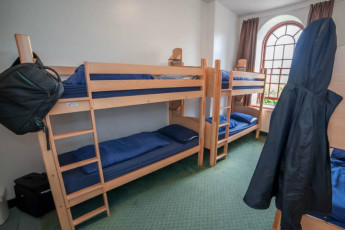 Stirling SYHA : comedor en Stirling Scottish Youth Hostel Association, Escocia