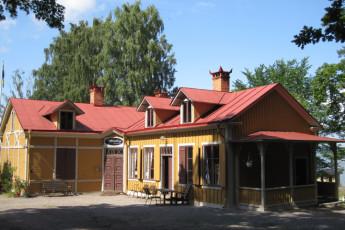 Norrköping/Abborreberg : hostel exterior