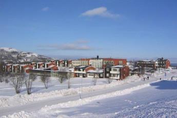 Kiruna : hostel exterior