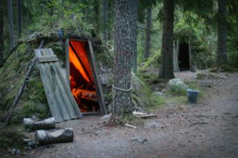Kolarbyn/Eco-Lodge : hostel exterior