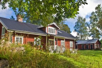 Hudiksvall/Kungsgården Långvind : hostel exterior