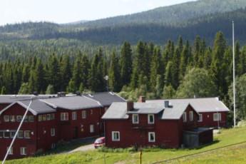 Edsåsdalen : hostel exterior