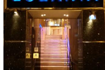 Athens - Hotel Lozanni : La zona de recepción en Athens - hotel Lozanni albergue, Grecia