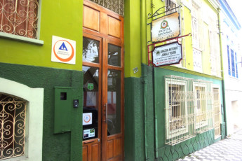 Manaus - Hostel Manaus : front door
