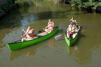 Danhostel Frederiksvaerk : canoeing