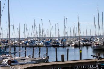Danhostel Frederiksvaerk : harbour
