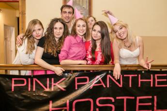 Kraków - Pink Panther's Hostel :