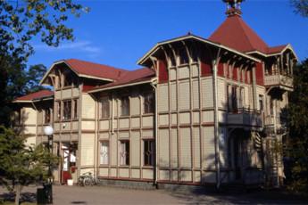 Hjo : hostel exterior