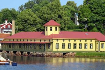 Gustafsberg/Uddevalla : hostel exterior