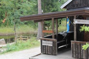 Ovansjö Kronopark/Jägarstugan : exterior