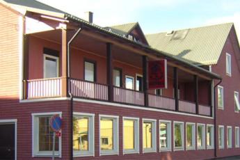 Sveg/Mysoxen : hostel exterior