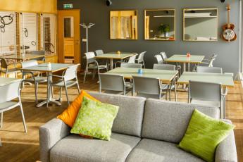Reykjavik City : cocina compartida en Reykjavik City Hostel