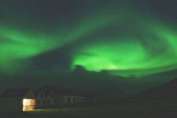 Berunes : Berunes HI Hostel. Northern Lights Iceland