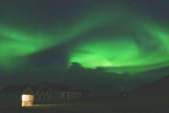Berunes : Berunes HI Hostel. Northern Lights Iceland