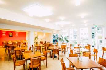Augsburg : Augsburg hostal en Alemania desayuno