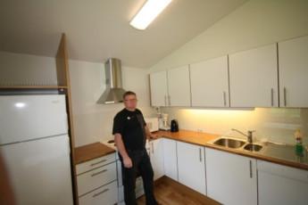 Borlaug : guest kitchen