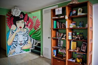 San José - Hostel Casa Yoses : dormitorio en el Hostal Casa Yoses en Costa Rica