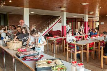 Bodenwerder : comedor Bodenwerder hostal en Alemania