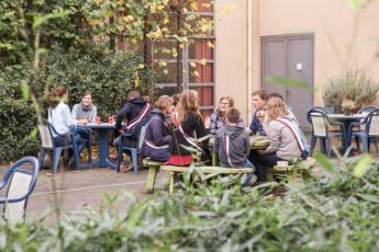 Leuven - De Blauwput : dans le restaurant Leuven - De Blauwput en Belgique