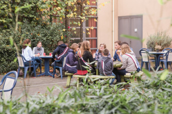 Leuven - De Blauwput : Restaurant im Leuven - De Blauwput in Belgien