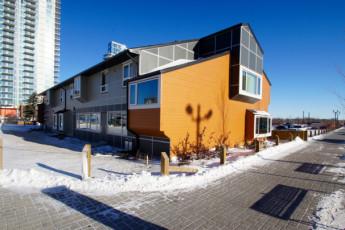 HI - Calgary City Centre : cocinar en la cocina de Calgary City Centre hostal