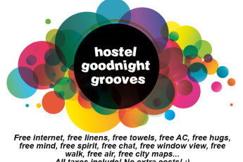 Hostel Goodnight Grooves : logo hostel goodnightgrooves
