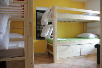 Youth Hostel Bovec : 092580 - Bocev Hostel, 4 green dorm room image 2
