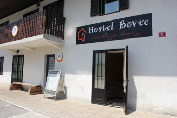 Youth Hostel Bovec : 092580 - Bocev Hostel, entrance image