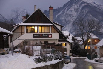 Youth Hostel Bovec : 092580 - Bocev Hostel, external entrance image