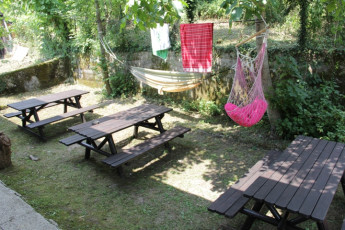 Youth Hostel Bovec : 092580 - Bocev Hostel, garden image