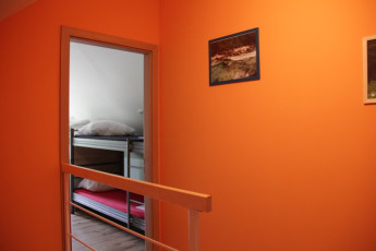 Youth Hostel Bovec : 092580 - Bocev Hostel, orange hall image