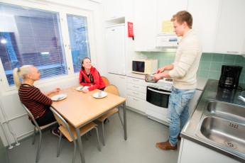 Joensuu - Finnhostel Joensuu : Joensuu - Finnhostel Joensuu - kitchen