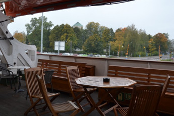 Turku - Laivahostel Borea : Outdoor terrace