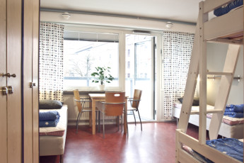 Malmö City : Chambre simple à Malmo City Hostel, Suède