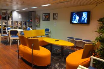 Turku - Laivahostel Borea : TV in common room