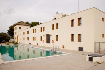 Torre de Alborache : Torre de Alborache hostel - swimming pool image