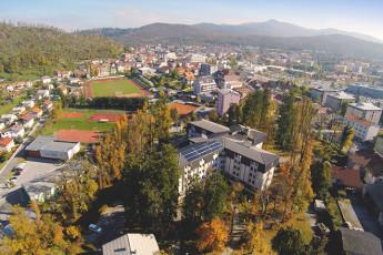 Youth Hostel Proteus : 092539 - Proteus hostel - ariel view image