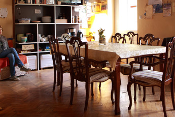 Youth Hostel Vila Veselova : Hostel Vila Veselova, X60433, dining table image
