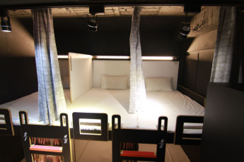 Backpackers Inn Taipei : Single bed