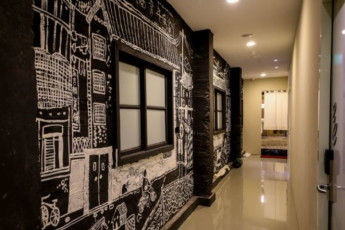 Backpackers Inn Taipei : Hostel Corridor