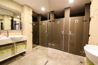 Backpackers Inn Taipei : Shared Bathrooms