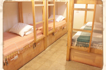 Tupiniquim Hostel : Our 6-people mixed dorms with shared bathroom are perfect for small groups
