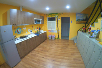 Taiwan Panda Hostel : Kitchen