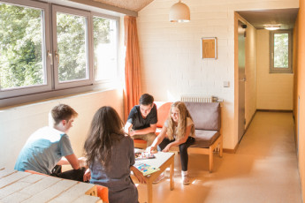 Brugge - Europa : Sitting area - Bruges Europa Hostel, Belgium