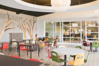 Brugge - Europa : Lounge in Brügge - Europa Hostel, Belgien